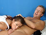 Nichole Deepthroating Dick